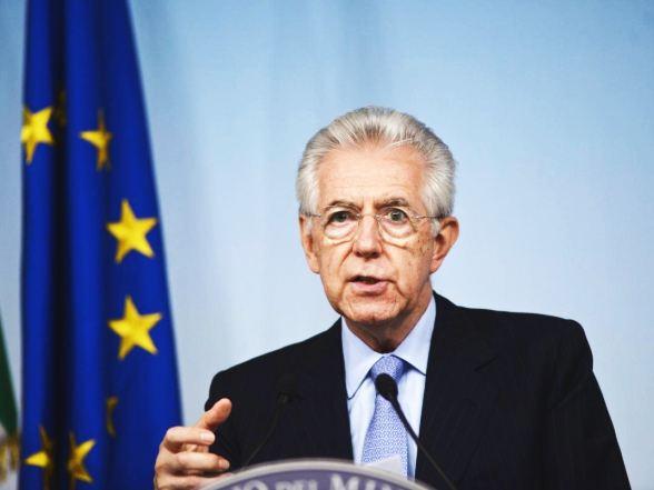 PRESS CONFERENCE OF ITALIAN PRIME MINISTER MARIO MONTI